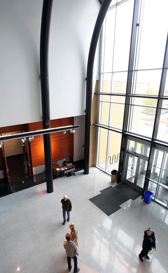 Atrium, Kimball Visual Arts Center
