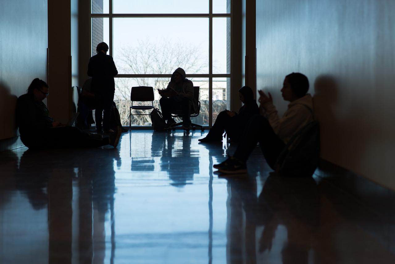 Student Silhouettes (Hallway)