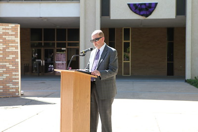 Dean Frank Harrold at Lindquist Hall Renovation Kick Off