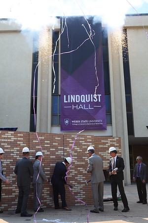Lindquist Hall Renovation Kick Off