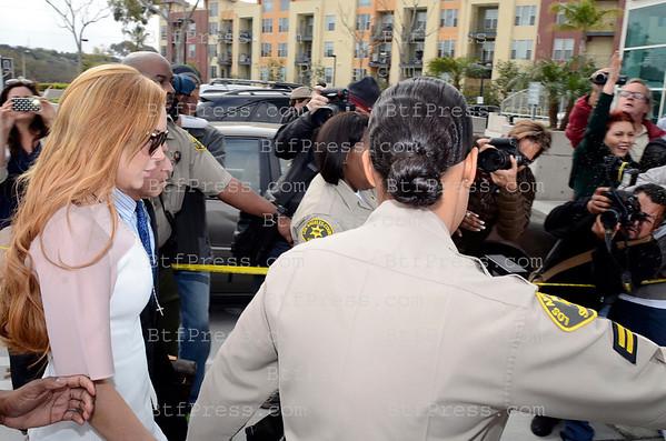Lindsay Lohan struck a plea deal in Los Angeles court