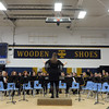 Teutopolis High School Band teacher Melissa Orndorff leads the students.<br /> Chet Piotrowski Jr. photo/Piotrowski Studios