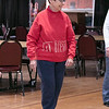 Thursday mornings at the Fitchburg Senior Center you can take line dancing classes with Joyce D'Aguanno of Fitchburg. Lu Lamarine of Fitchburg takes D'Aguanno class on Jan. 9, 2020. SENTINEL & ENTERPRISE/JOHN LOVE