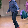 Thursday mornings at the Fitchburg Senior Center you can take line dancing classes with Joyce D'Aguanno of Fitchburg. D'Aguanno teaches her class on Jan. 9, 2020. SENTINEL & ENTERPRISE/JOHN LOVE