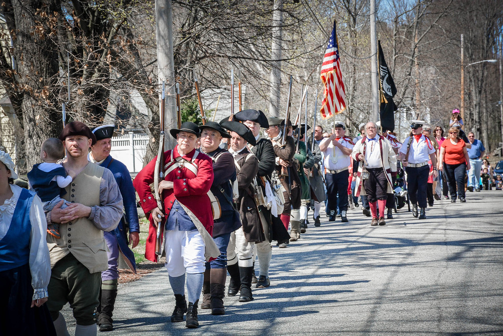 . Line-of-March Dedication takes place in Tewksbury on Sunday April 17th. SUN/Caley McGuane