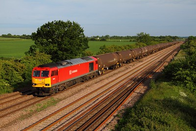 60015 6E38 Colnbrook to Lindsey at Cossington on the 17th June 2013