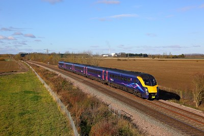 180110 working to Kings Cross at Kirkby la thorpe on the 12th November 2017