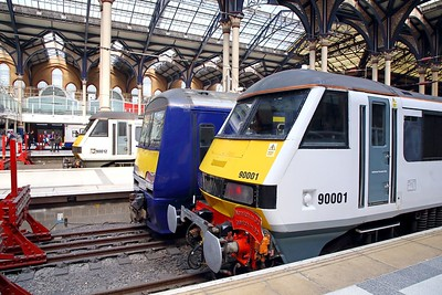 Liverpool Street line up on the 20th May 2019