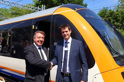 Gareth Powell MD of Surface Transport at Gospel Oak on the 23rd May 2019 hires