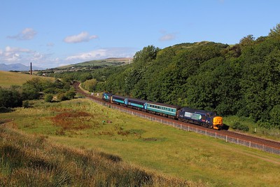37409 tnt 37423 on the 2C34 1433 Carlisle to Barrow-in-Furness at Park South on the 1st August 2015