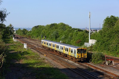 507026 working 2O08 0817 Liverpool Central to Ormskirk approaching Kirkdale on 30 May 2021   Class507, MerseyRail, NorthernLineMR, Ormskirkbranch