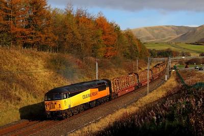 56094 Beckfoot 6J37 Carlisle yard to Chirk on 27th October 2012