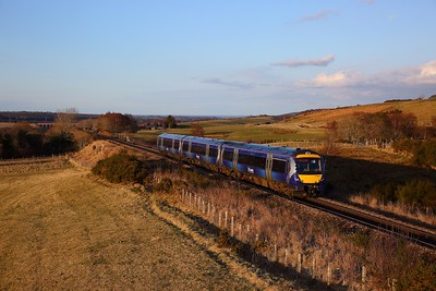 170411 on the 1B44 1845 Inverness to Edinburgh at Culloden on the 31st March 2018