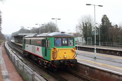 73202 on the 0Z45 Lovers Walk to Brighton on the 12th March 2017