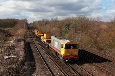 20118+20132 on the 3Y01 Tonbridge WY to Tonbridge WY via Cambria jnc, Rochester and Strood at Swanley on the 24th February 2017