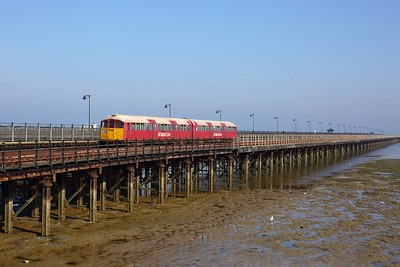 483008 working the 2D15 0907 Ryde Pier Head to Shanklin arriving at Ryde Esplanade on 11 August 2020 1  Class483, Islandline, SWR