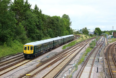 769928 working Reading to Reading at Guildford on 20 August 2021  Class769, GWR, NorthDownsLine