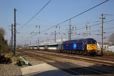 47815 on the 5V94 0850 Wembley to Long Marston at West Ealing on the 27th March 2020