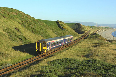 156440 approaches Nethertown on 08/09/2004 with 2C31 1710 Barrow in Furness-Carlsile.