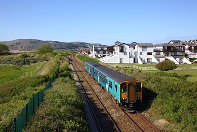 150245 on the 2Z14 1655 Llandudno to Llandudno Junction at Deganwy on the 4th May 2019