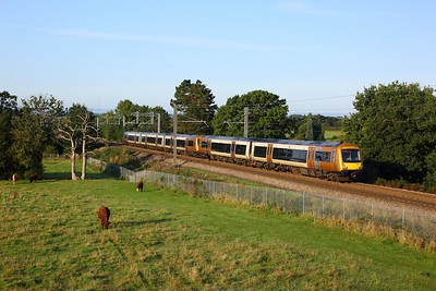 170515 leading 170634 working 1M56 0709 Hereford to Birmingham New Street at Lickey on 14 September 2020  Class170, WMR