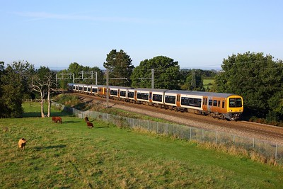 323204 leading 323216 on 2P11 0819 Bromsgrove to Lichfield Trent Valley at Lickey on 14 September 2020  Class323, WMR
