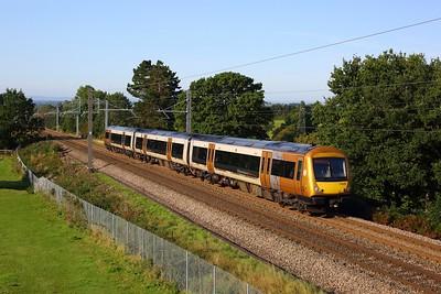 170632 powering 1M05 0836 Great Malvern to Birmingham New Street climbing the Lickey on 14 September 2020  WMR, Class170