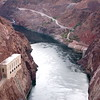 lake mead leading away from hoover dam