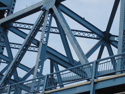 Intersected girders, Jacksonville, Florida.