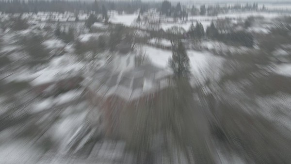 Linfield Snow Day Drone