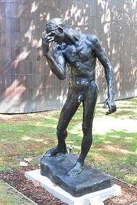 Different figure, Rodin hands.