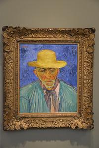 Portrait of a Peasant, van Gogh