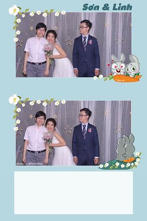 Linh & Son Wedding Photobooth in Ho Chi Minh City (Saigon)