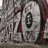 Humboldthain Flak tower graffiti