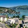 Spiez, Switzerland panorama