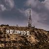 Hollywood sign creative