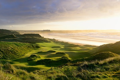 Doonbeg (Trump Ireland) 14th and lodge