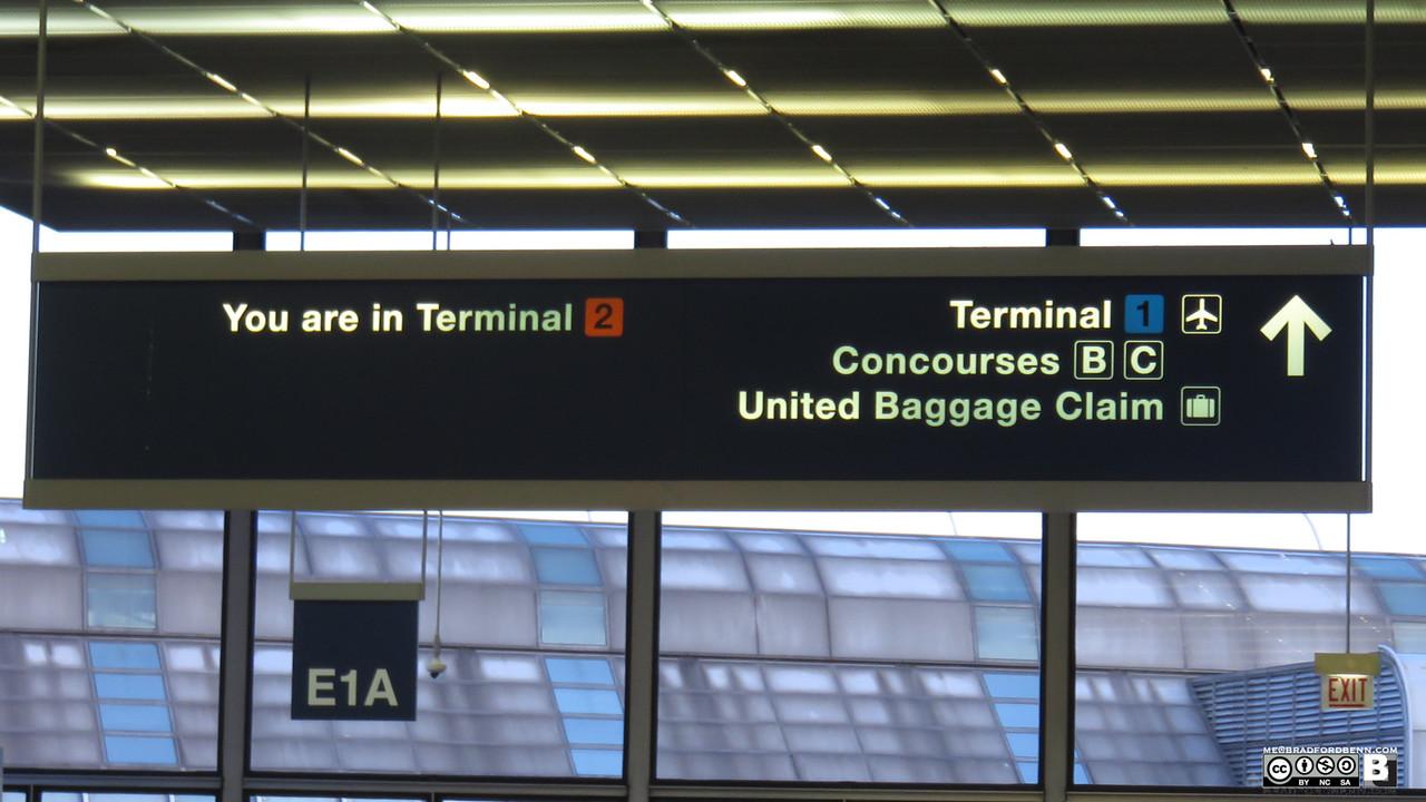 Leaving F Terminal