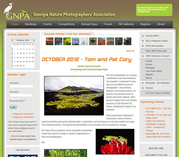 www.gnpa.org/<br /> <br /> GNPA Georgia Nature Photographers Association - dedicated to helping nature photographers of all skill levels improve their photography.