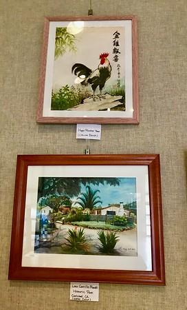 Linmou Eng Art Exhibiton May-June 2017