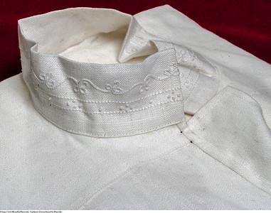 Linskjorte til mannsbunad fra Romerike