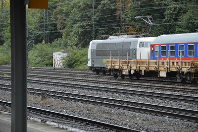 Rail Adventure 103222-8 sits at Cologne West 18/9/17