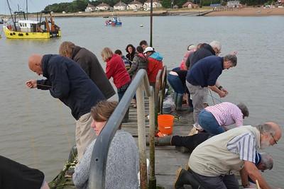 Stowmarket Lions Crabbing