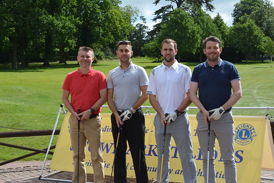 Stowmarket Lions Charity Golf Day raises over £6,000.00 for West Suffolk Hospital My Wish Charity