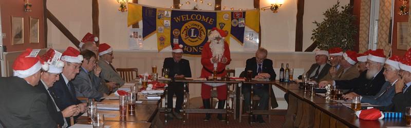 Stowmarket Lions Santa Sleigh