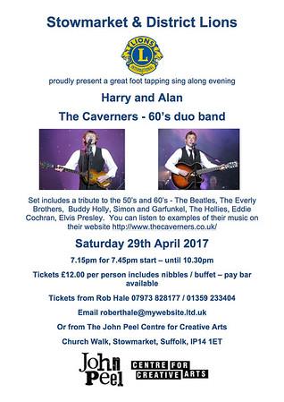 The Caveners at John Peel Centre for Creative Arts