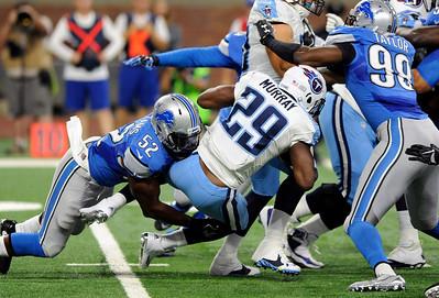 APTOPIX Titans Lions Football