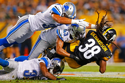 Lions Steelers Football