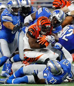 APTOPIX Bengals Lions Football
