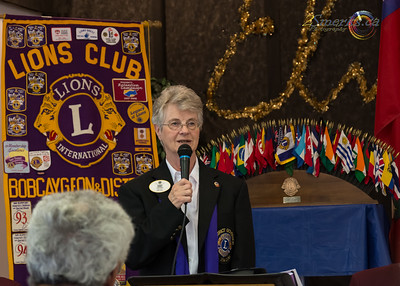 A-16 District Governor Lion Eleanor Colwell